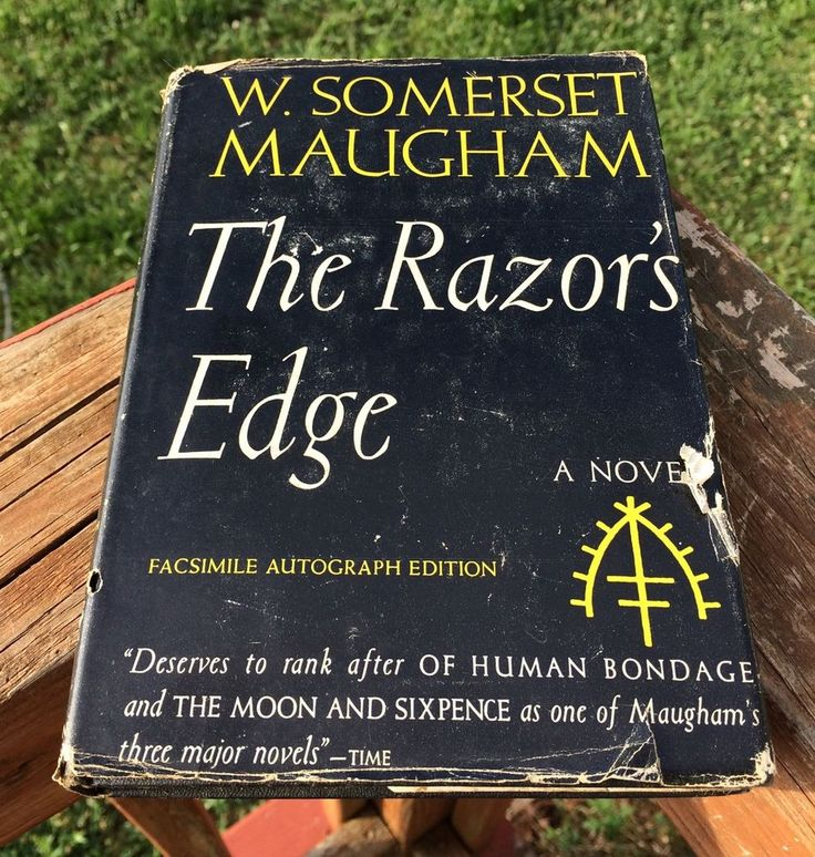 The Razor 039 s Edge by w Somerset Maugham 1944 Hardcover Book | eBay