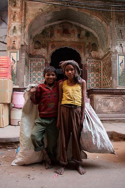 Children of Jaipur