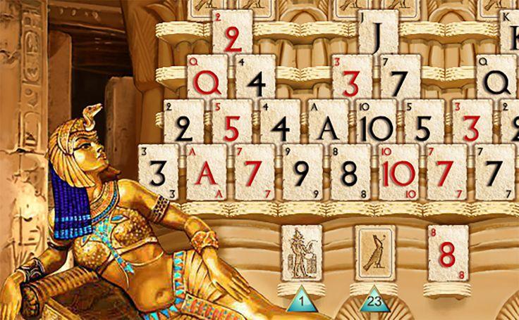 Jouez gratuitement à Pyramid Rapid Solitaire sur cette page! Ramenez toutes les cartes dans le paquet du bas avant que le temps soit écoulé! Pour y arrive...