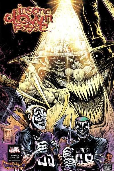 Insane Clown Posse: The Pendulum #2 comic books for sale