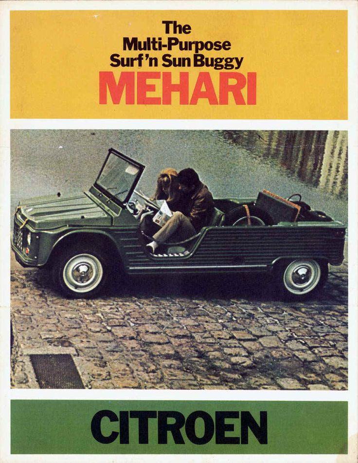 Citroen mehari, la voiture des vacances #citroen #mehari