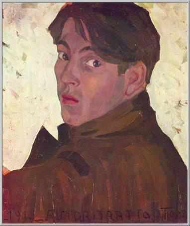 Mario Tozzi: 1915 Autoritratto