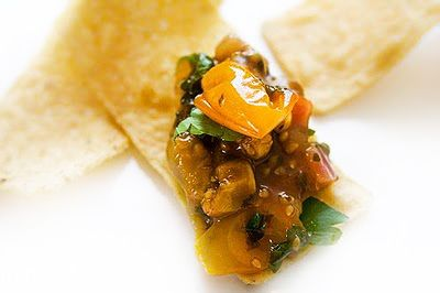 Gluten-Free Goddess® Recipes: Roasted Yellow Tomato Salsa Recipe with Cilantro