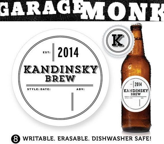 Waterproof Labels Personalized Beer Labels Home Brewer Gift Home Brew Beer Labels Custom Beer Labels