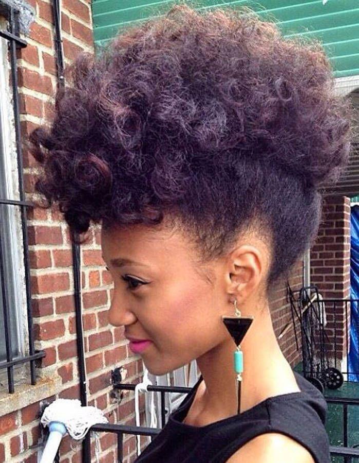 Bien connu Les 25 meilleures idées de la catégorie Coiffure cheveux crépus  VK26