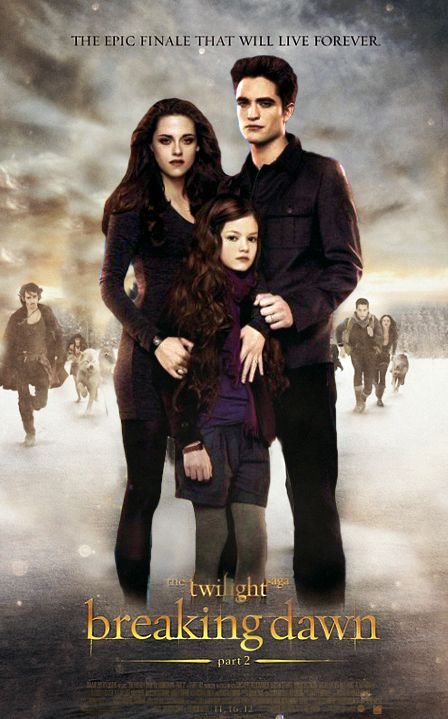 Risultati immagini per THE TWILIGHT SAGA - BREAKING DAWN PART 2 ( 2012 ) GIF POSTER