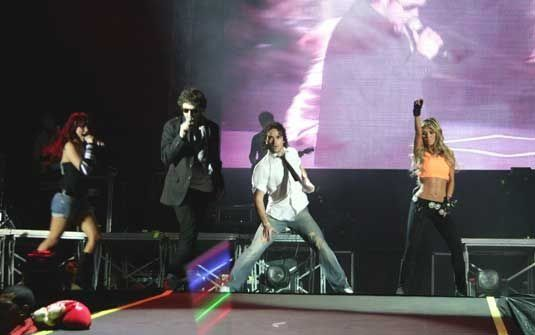 28.11.08 - Rio de Janeiro, Brasil - HSBC Arena