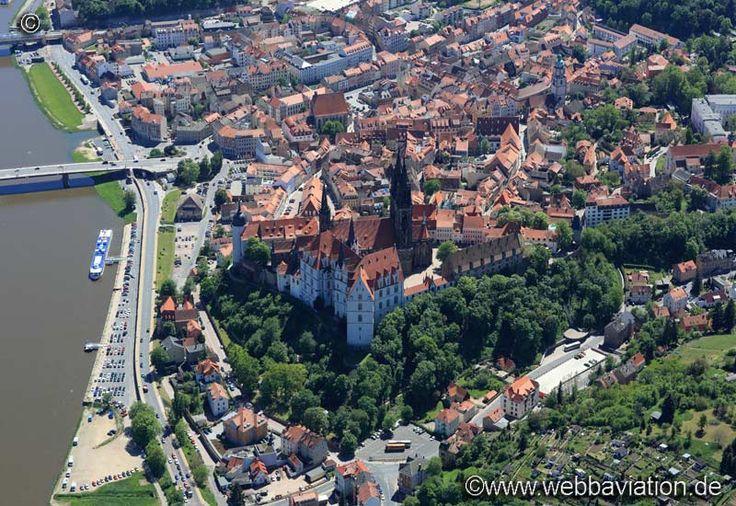 Luftbild Albrechtsburg hc26599