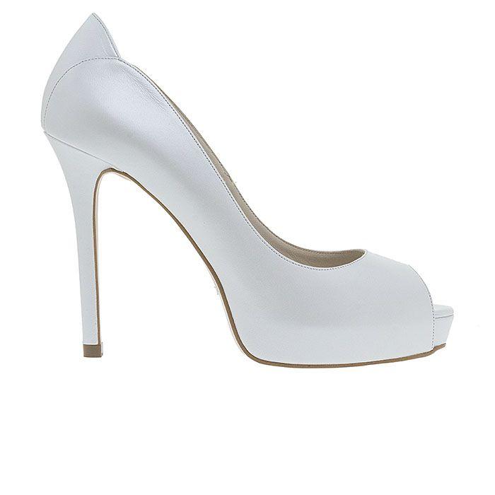 Code: 110314 Heel Height: 11 cm #bridal #mourtzi