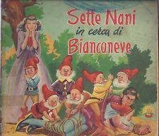Collana Rosa D' Oro n.81 SETTE NANI IN CERCA DI BIANCANEVE ill. Corbella 1953
