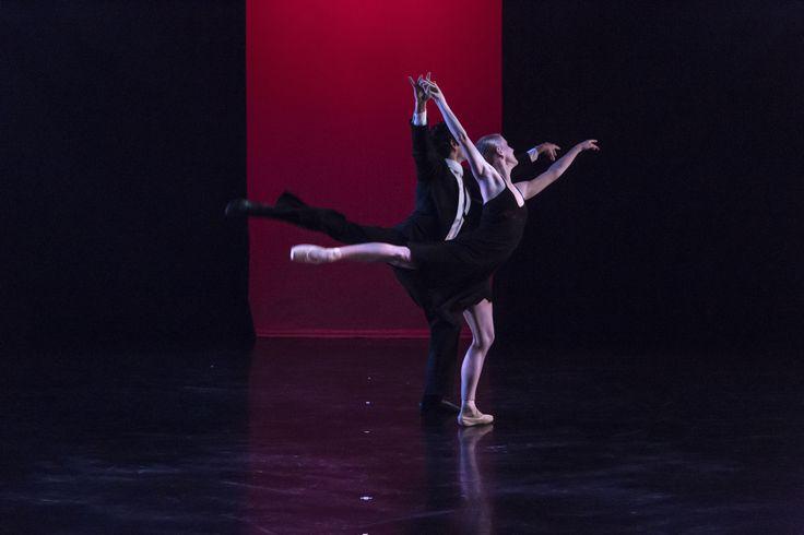 Queensland Ballet's Tamara Hanton & Nathan Scicluna Photo Christian Tiger