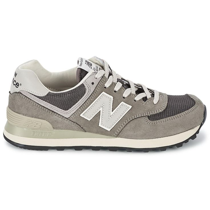 Discount New Balance 574 Men's Grey White Ml574 http://www.new-balance-factory-store.com/new-balance-574-mens-grey-white-ml574-p-97.html