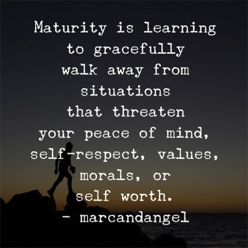 Maturity Quotes Classy The 25 Best Quotes About Maturity Ideas On Pinterest  Mature