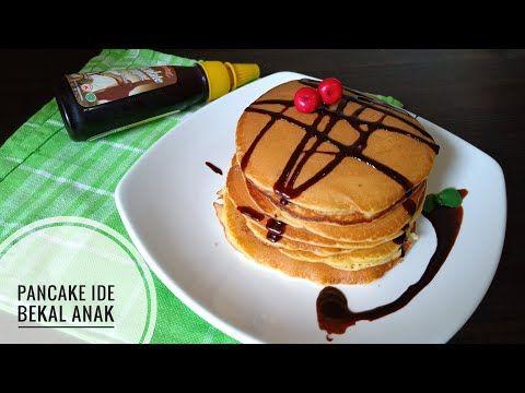 Resep Pancake Super Mudah Dan Enak Takaran Sendok Youtube Di 2020 Kue Resep Sarapan
