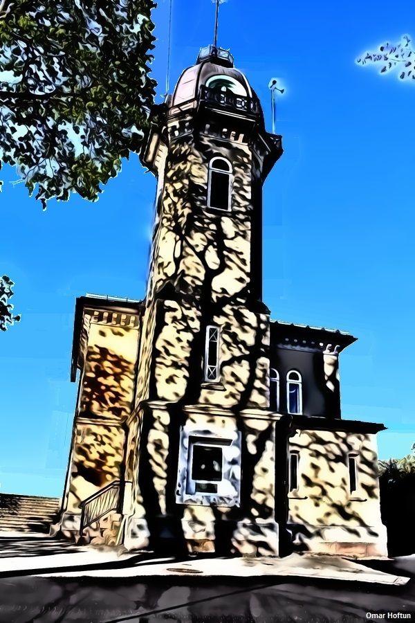 Tårnhuset på St. Hanshaugen den 1. mai 2014.