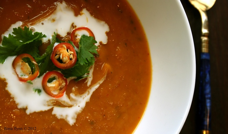 Thai pumpkin soup | Heartwarming | Pinterest