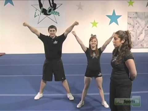 This youth cheerleading video shows you how to take a group of basic cheerleading moves and put them together to create a cheerleading routine. These are som...