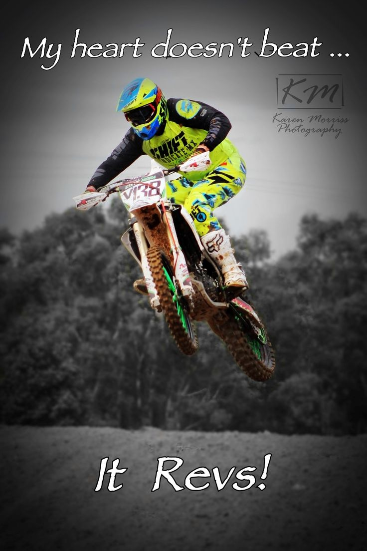 Steve - Motocross Quote