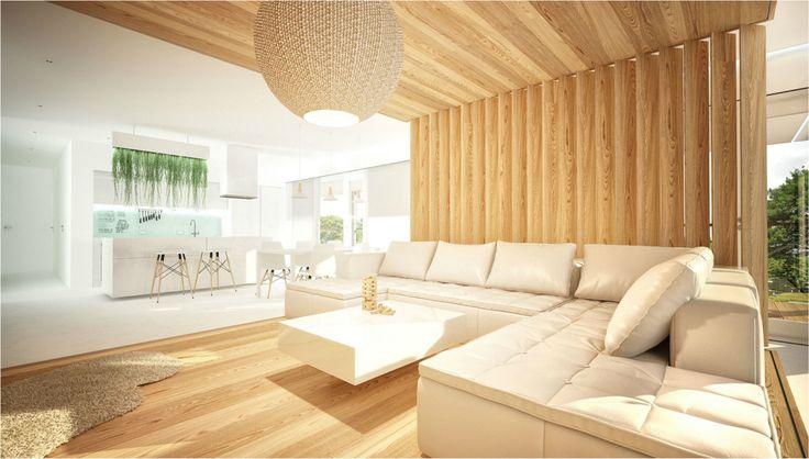 Inside a wood cube