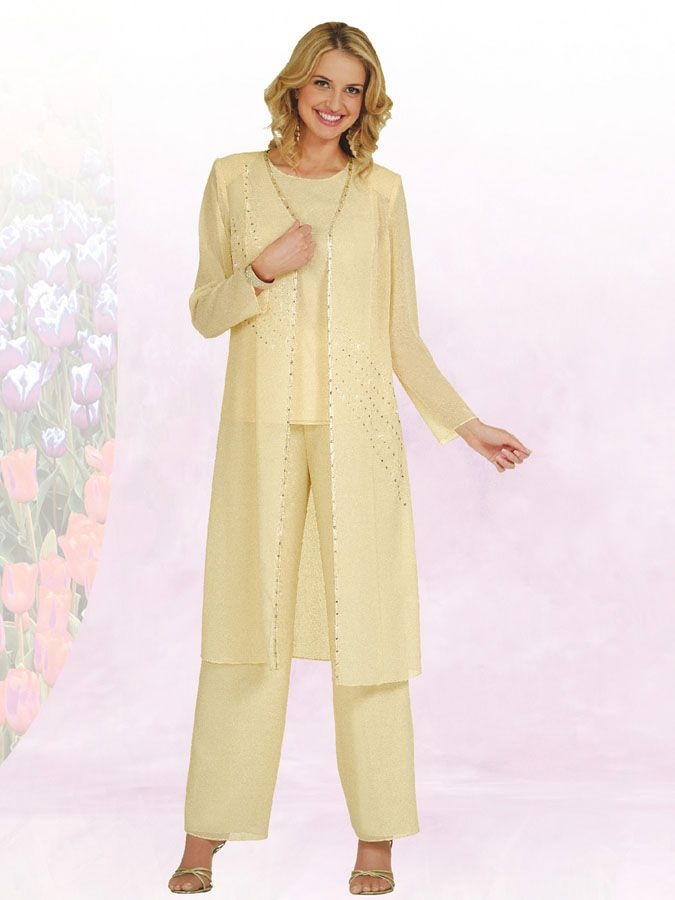 Wedding pant suits mother bride misty lane mother of the for Dress pant outfits for wedding