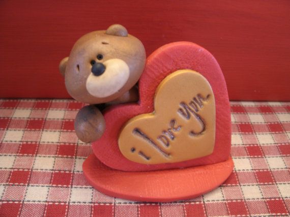 I Love You Valentine Bear $8.50