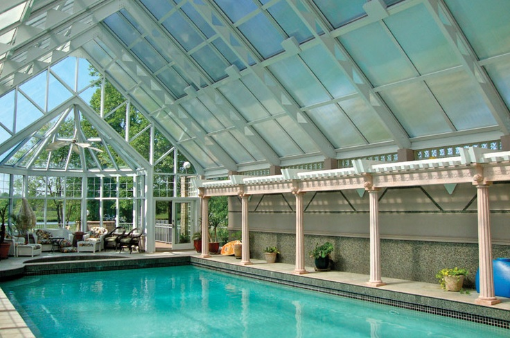17 best images about indoor pools on pinterest luxury for Indoor swimming pool cost