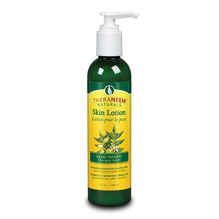 Neem Lotion supports healthy skin and relievesDry Skin, Eczema, Psoriasis, Scabies, Itchy skin, Rashes, and Topical skin issues. Packed with antioxidants and essential fatty acids, neem calms, nourishes and moisturizes even the most sensitive skin.