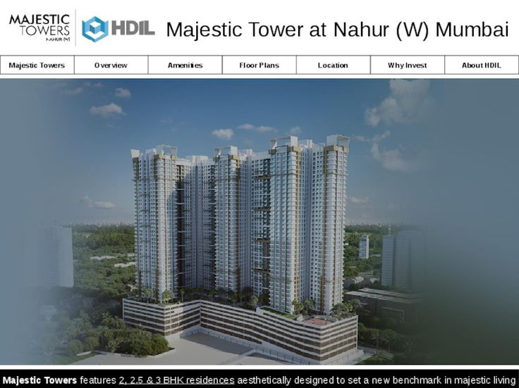 Majestic Towers Nahur - New Luxury Residential Projects in Mumbai