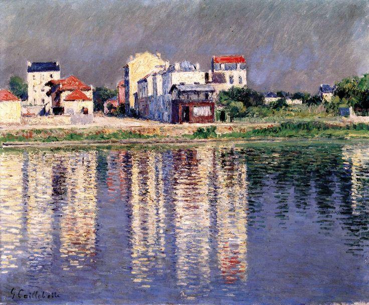 Gustave Caillebotte - Les bords de Seine à Argenteuil (1888)