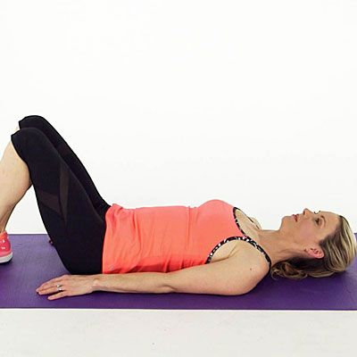 No one wants knee trouble. One way to avoid it is to add stretches after your workout. In this video, fitness expert Kristin McGee shows you the proper technique for doing four easy knee stretches.  | Health.com