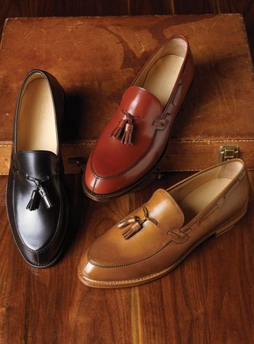The Greensboro Tassel Loafers: It's apparent that I need all three!