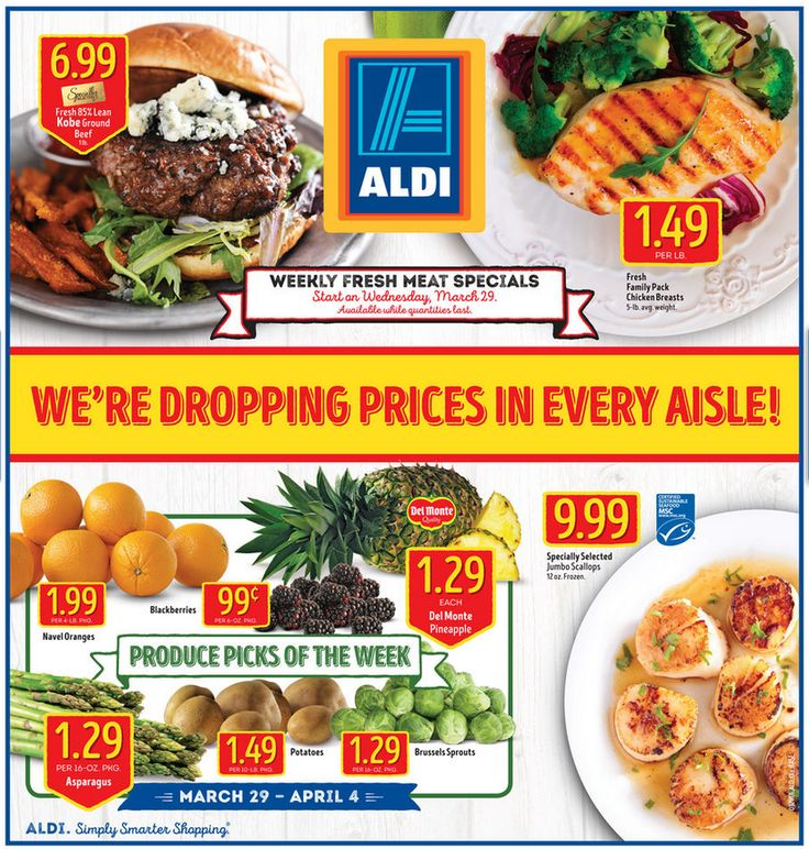 Aldi Weekly Ad March 29 - April 4, 2017 - http://www.olcatalog.com/grocery/aldi-ad.html