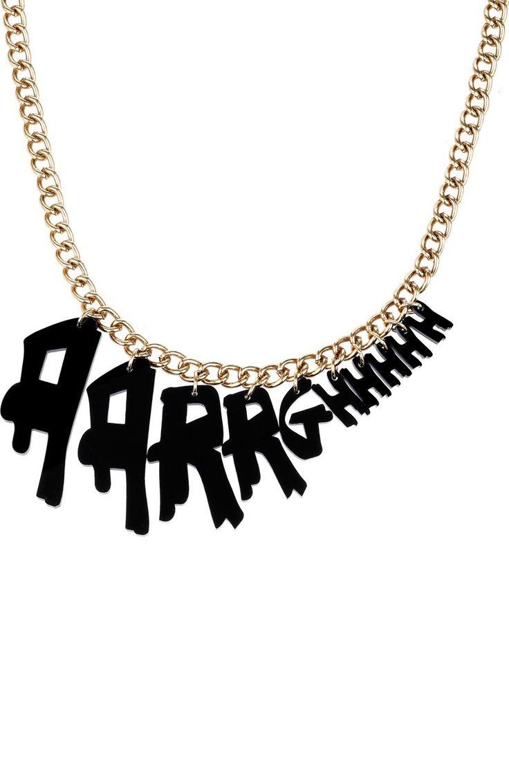 Aarrghhhh Necklace
