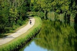 Le Canal de Garonne à vélo : La Réole / Marmande