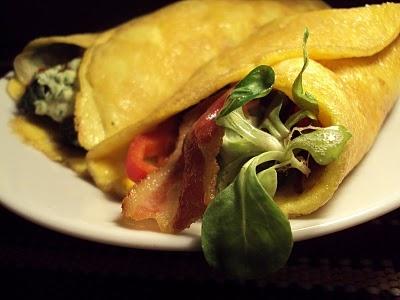 LCHF-bloggen: Omelettwrap