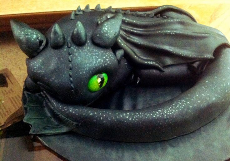 Toothless The Night Fury Cake By Layde Cakes Cake