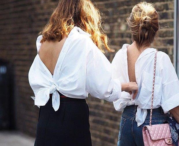 TENDÊNCIA DA VEZ: CAMISA AO CONTRÁRIO, USARIA? - Fashionismo