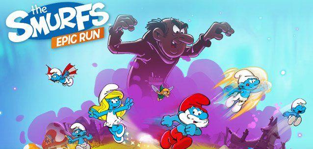 I Puffi Epic Run una divertente corsa per sfuggire a Gargamella