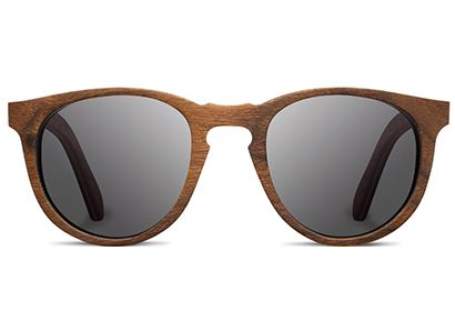 SCHWOOD BELMONT GLASSES -  How do you improve upon a timeless classic? If you're Schwood, you carve it out of sustainably sourced wood! Their Belmont sunglasses update the classic keyhole frame (worn by the likes of Steve McQueen) with wood or oak construction and Carl Zeiss lenses.   from Schwood