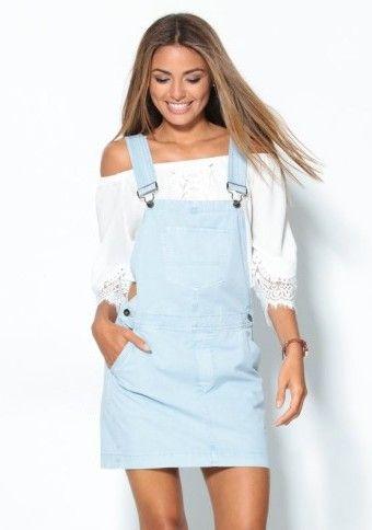 Sukně s laclem #ModinoCZ #style #outfit #skirt