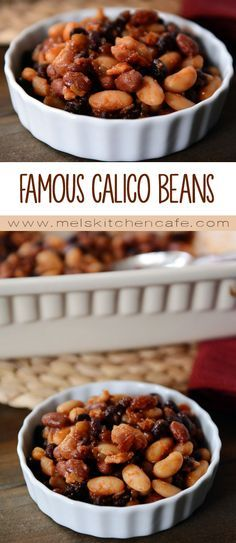 My Mom's Famous Calico Baked Beans are simple, tasty and flavorful.