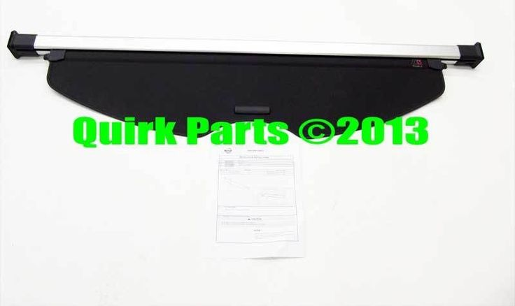 2012-2013 Nissan Rogue Rear Cargo Tonneau Cover Retractable Protector OEM NEW #Nissan