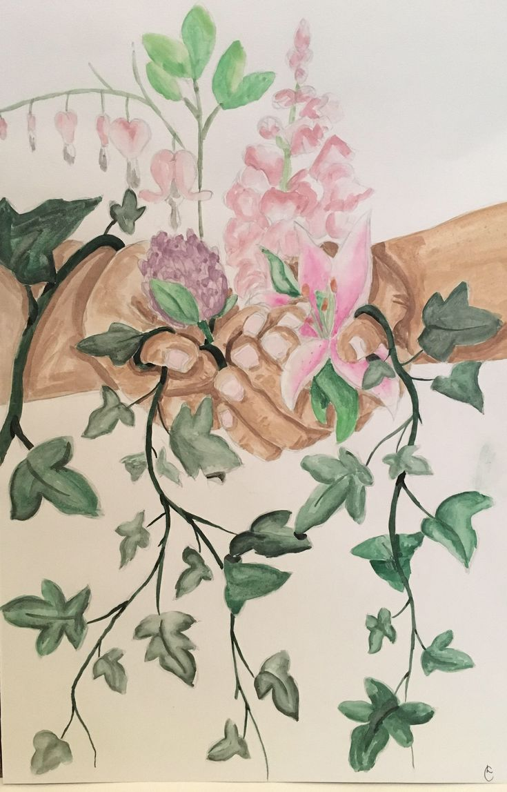Excited to share the latest addition to my #etsy shop: Watercolour flowers