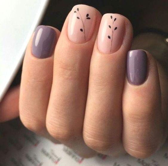 15 geniales ideas de manicura para uñas cortas