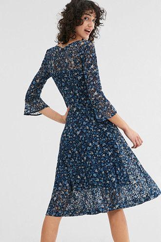 EDC / Krajkové šaty s drobnými kvítky