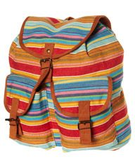 ALL ABOUT EVE HULLABALOO BACKPACK - MULTI STRIPE