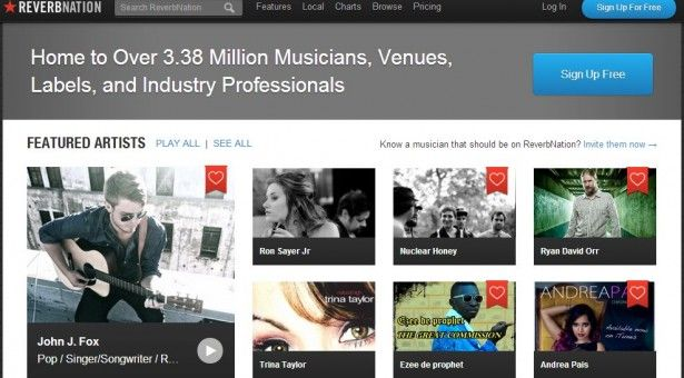 ReverbNation – The Online Music Scene