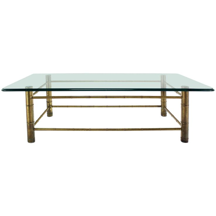 Glass Top Coffee Tables