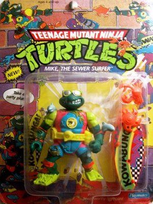 Teenage Mutant Ninja Turtles Action Figures: Mike, the Sewer Surfer