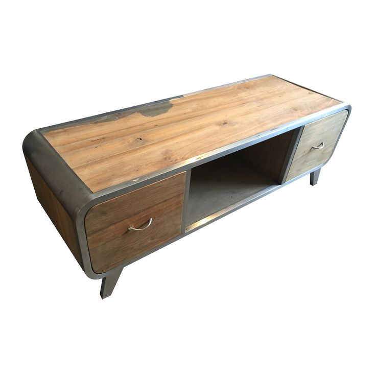 TV Console G - Industrial. Industrial inspired TV Console.